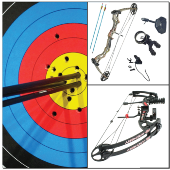 Compound bow sets