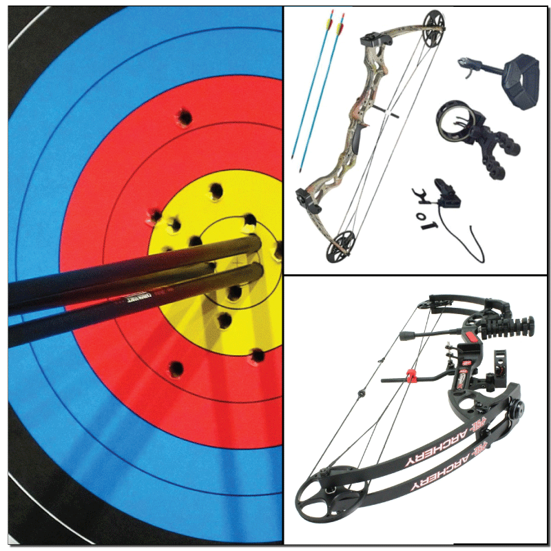 Compound bow sets