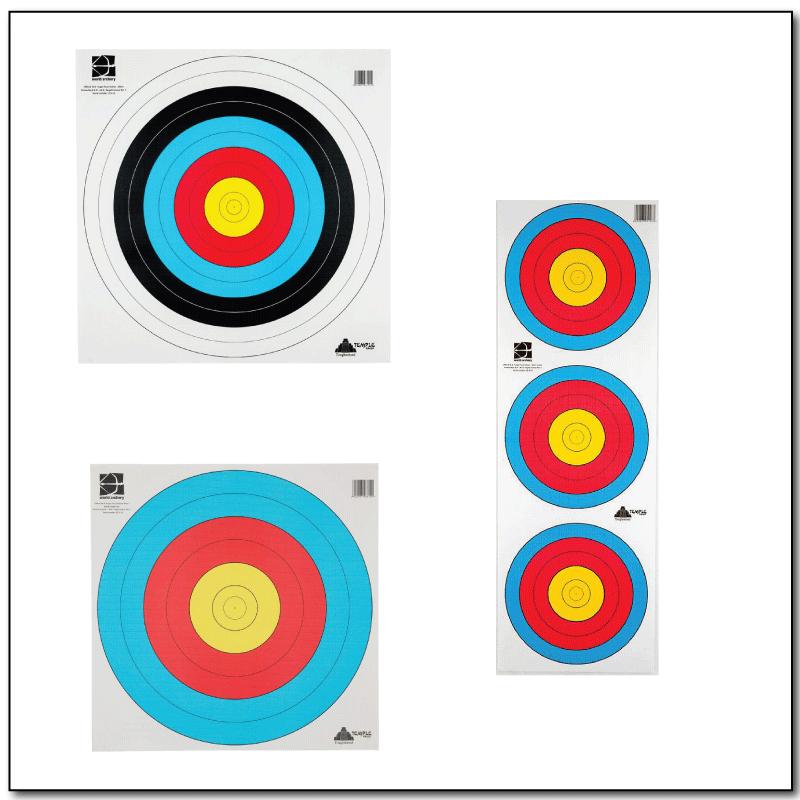 Target Faces / Papīra mērķi